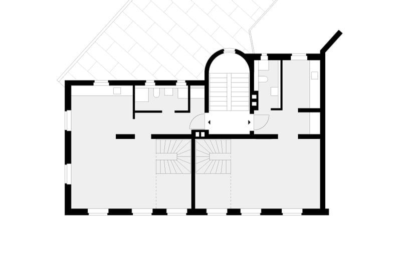 Grundriss 5. Obergeschoss