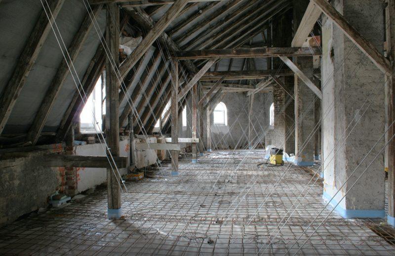 Verbunddecke über 3. Obergeschoss