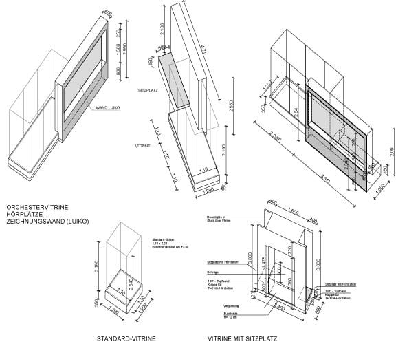 Isometrien Einbauten