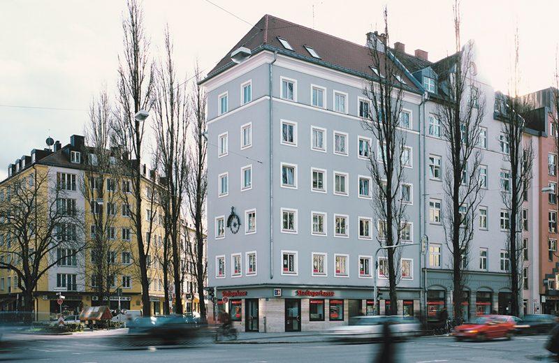 Ansicht Lindwurmstraße
